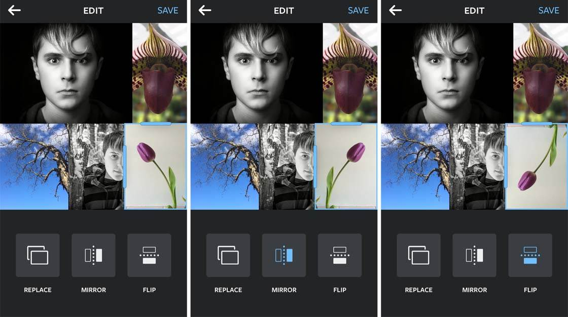 Instagram Layout App iPhone 13 no script