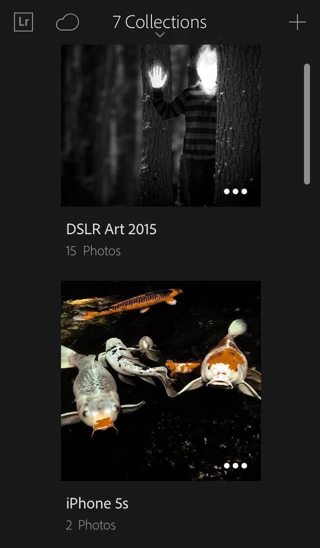 iPhone Lightroom App 7