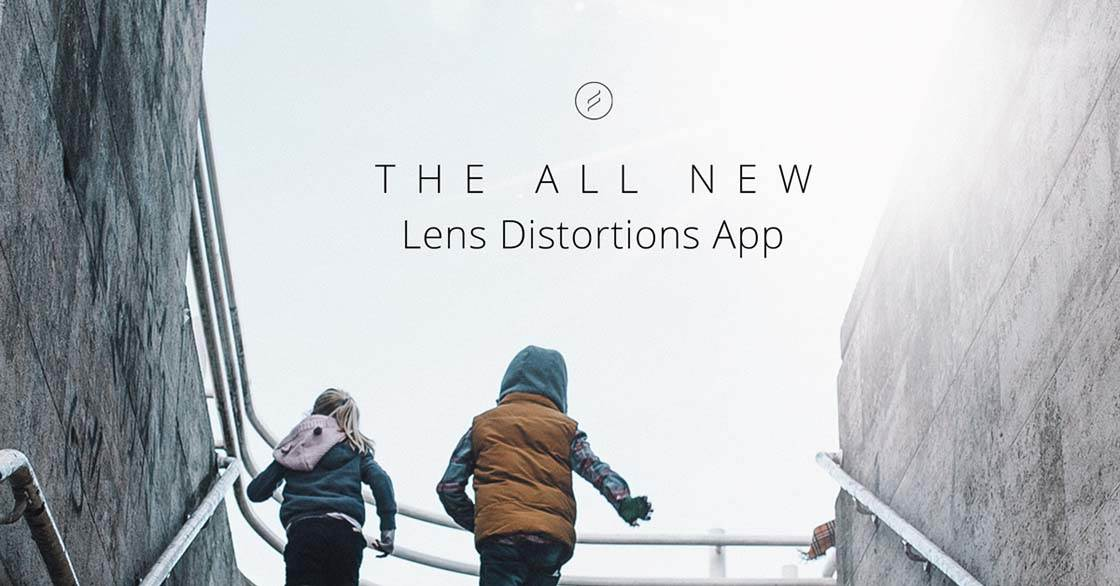 Lens Distortions App iPhone 1