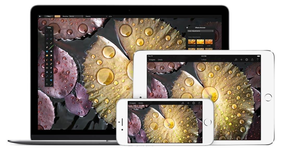 Pixelmator iPhone Editing App 6 no script