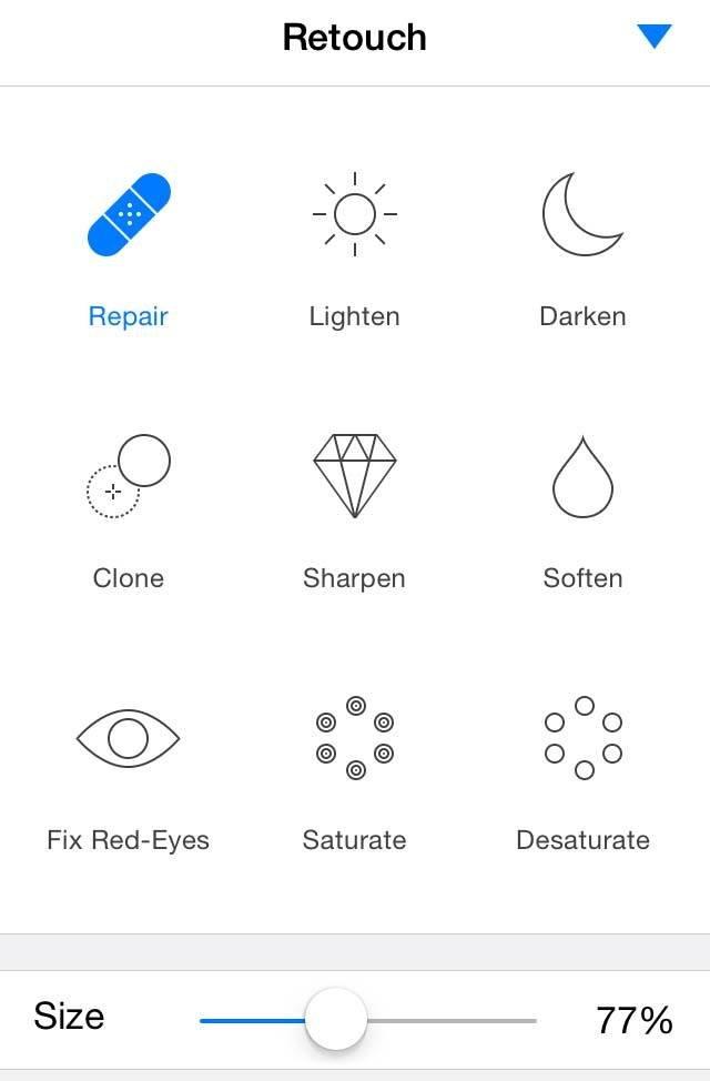 Pixelmator iPhone Editing App 15 no script