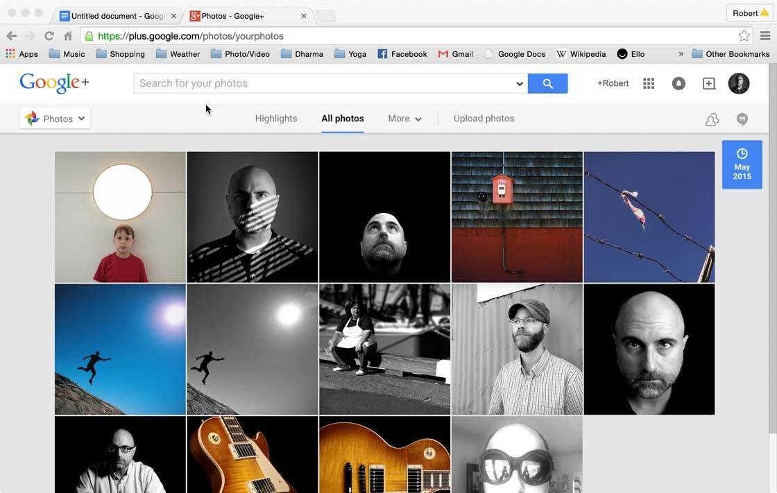Snapseed Google Plus 1 no script