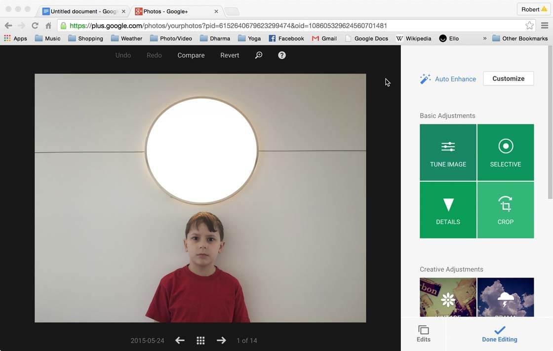 Snapseed Google Plus 4 no script