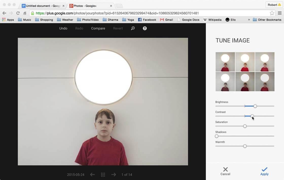 Snapseed Google Plus 5 no script