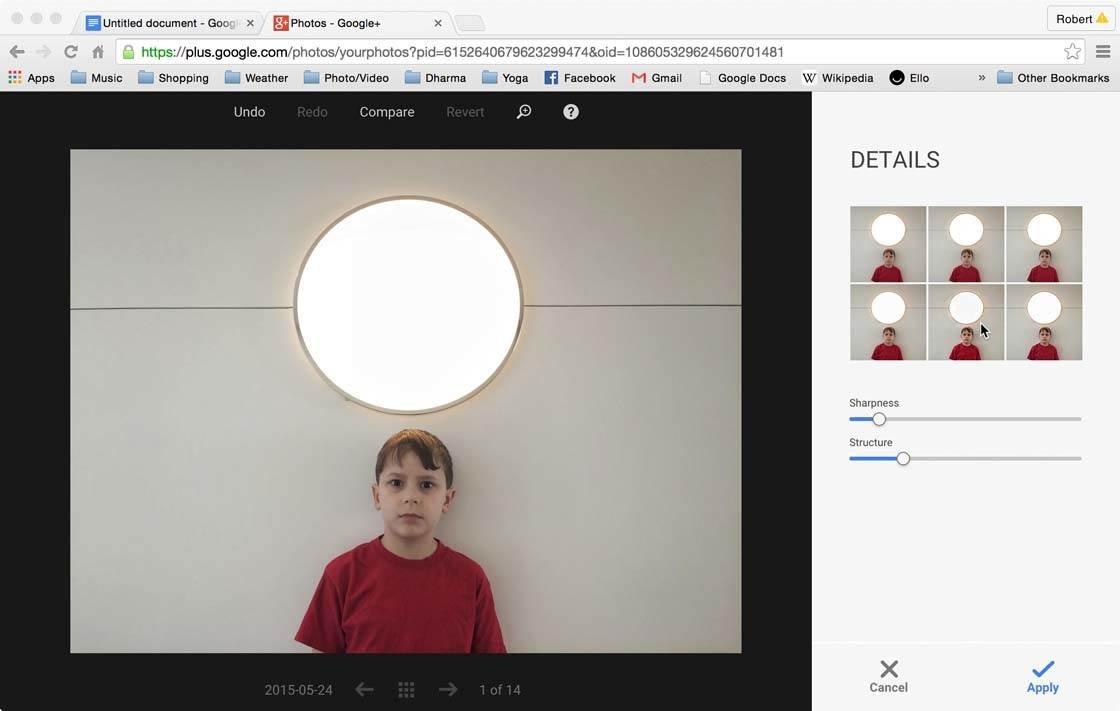 Snapseed Google Plus 7 no script