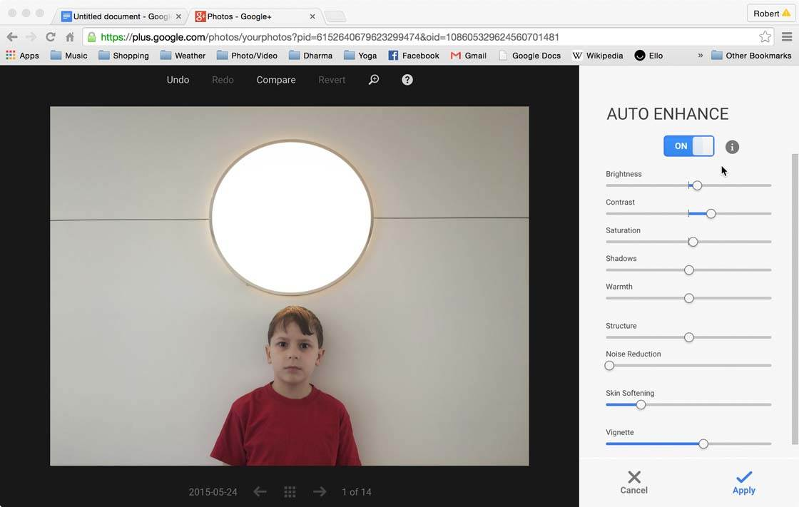 Snapseed Google Plus 16 no script
