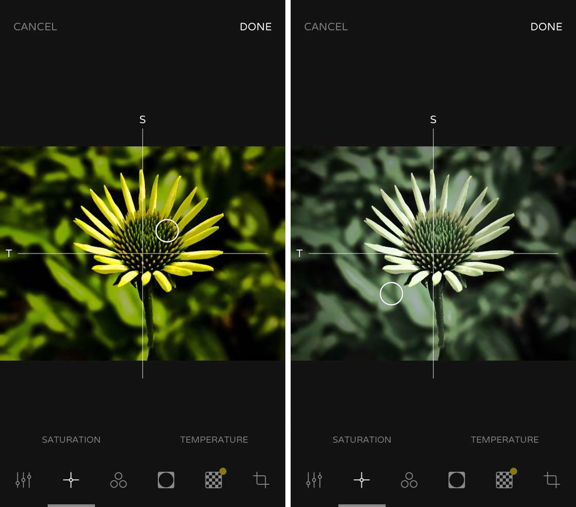 Ultralight iPhone Photo Editing App 1 no script