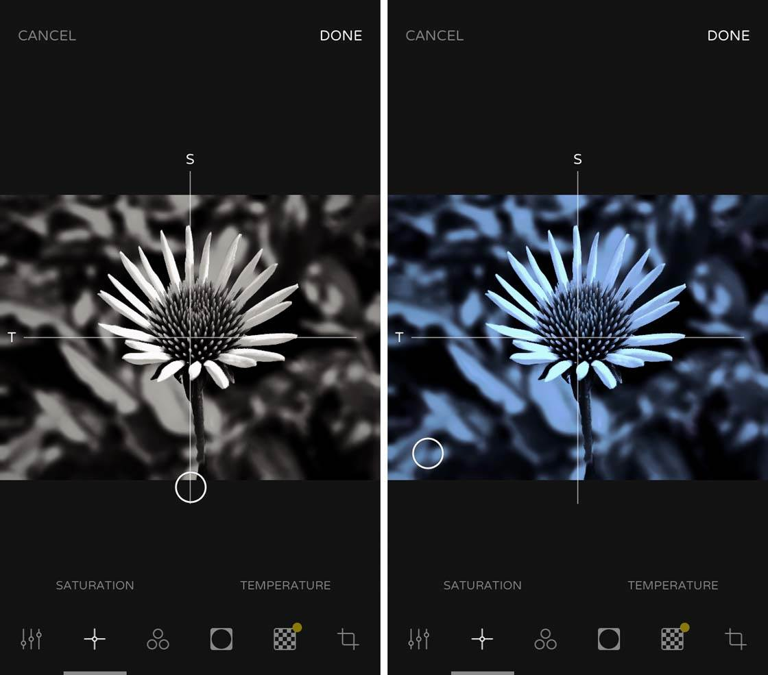 Ultralight iPhone Photo Editing App 2 no script