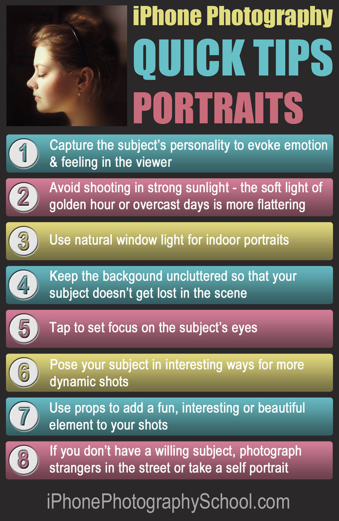 iPhone Portrait Quick Tips