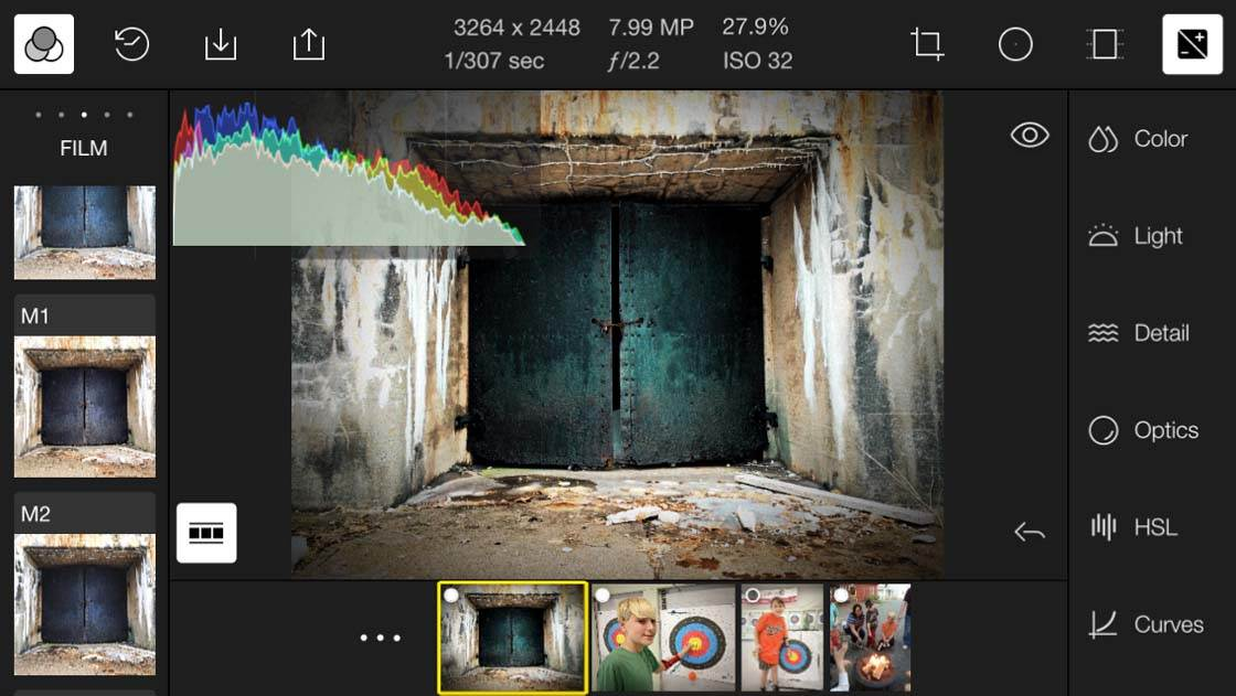 Polarr iPhone Photo Editing App 2