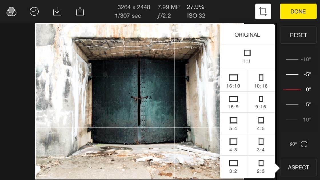 Polarr iPhone Photo Editing App 8 no script