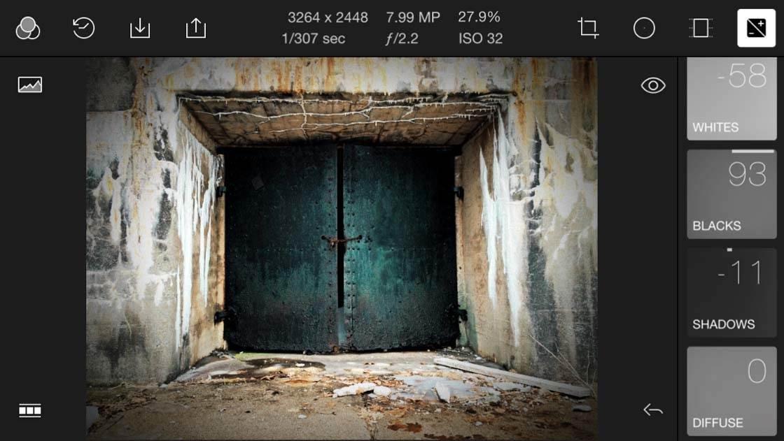 Polarr iPhone Photo Editing App 9 no script