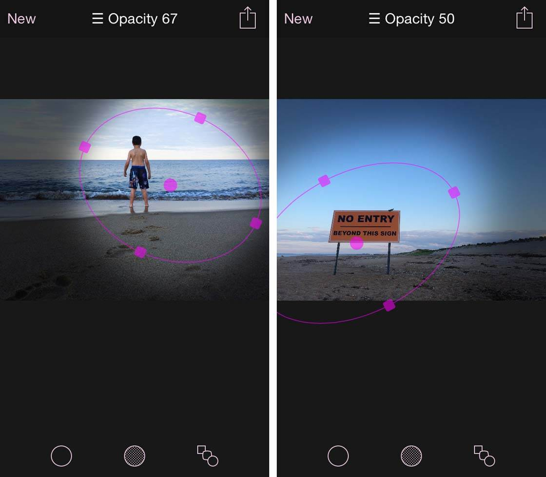 Final Touch Vignette App iPhone Photos 15 no script