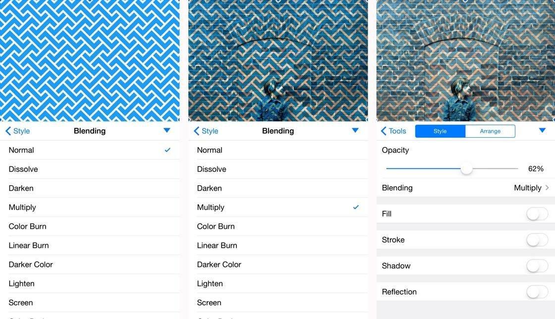iPhone Photos Pixelmator Layers 7 no script