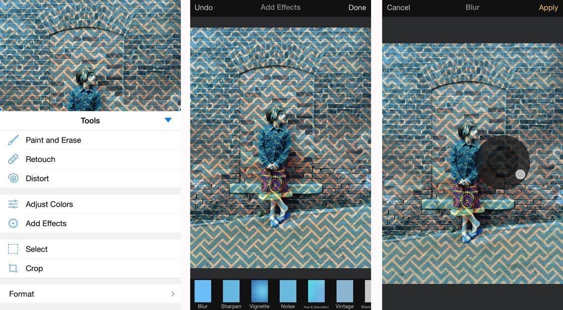 iPhone Photos Pixelmator Layers 8 no script