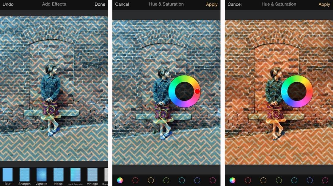 iPhone Photos Pixelmator Layers 9 no script