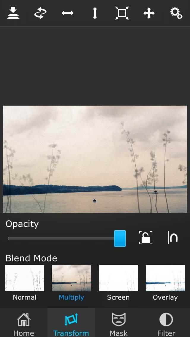 Painterly iPhone Landscape Photo 38 no script