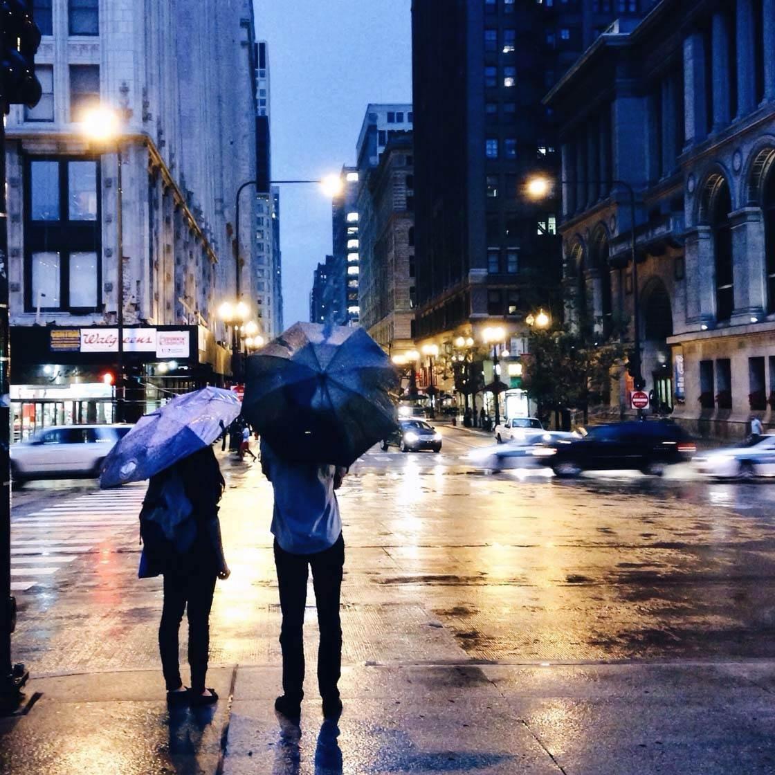 Busy City iPhone Photos 14 no script