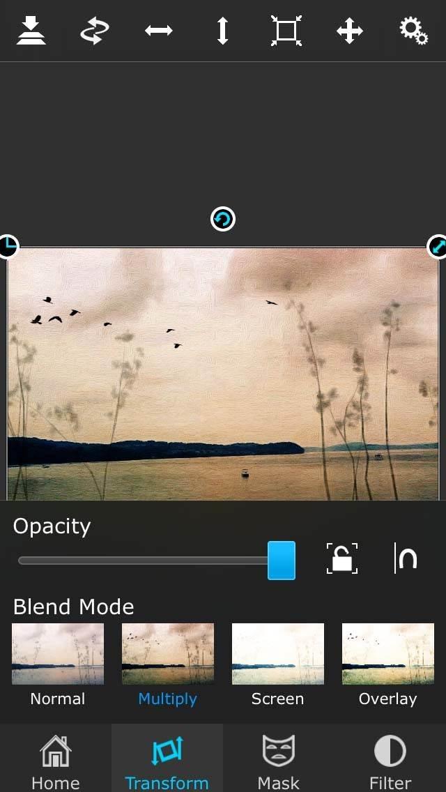 Painterly iPhone Landscape Photo 57 no script
