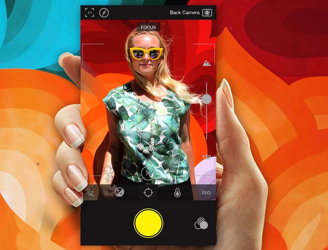 Hipstamatic 300 iPhone Photo App 1