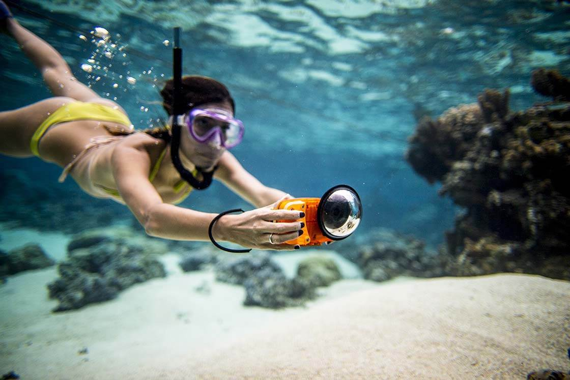new product c8dbb 431cd Take Underwater iPhone Photos With Watershot PRO Housing