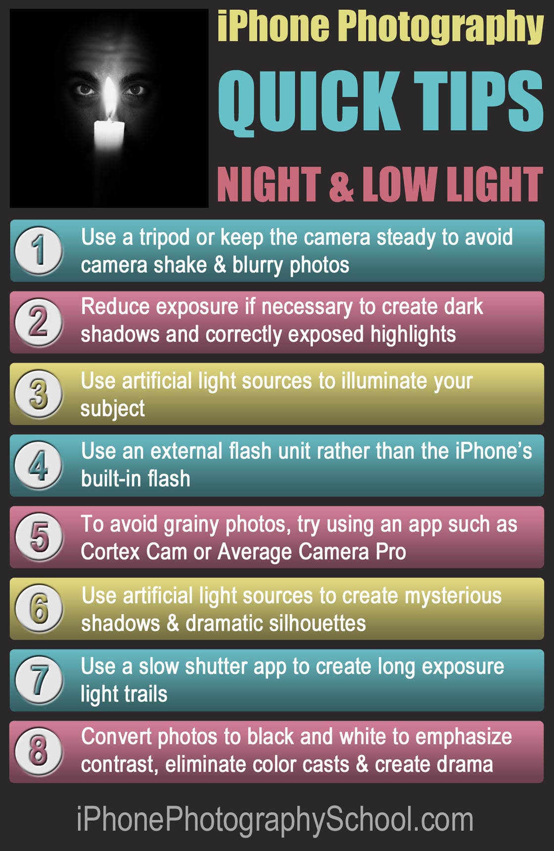 iPhone Night Quick Tips