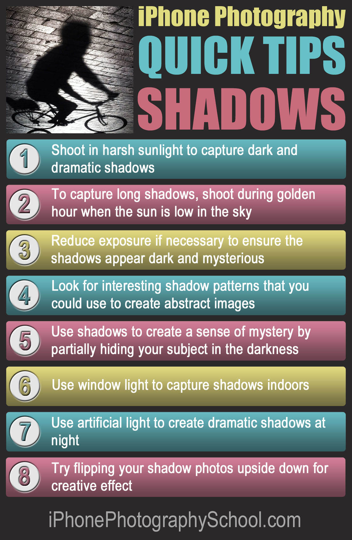 iPhone Shadows Quick Tips no script