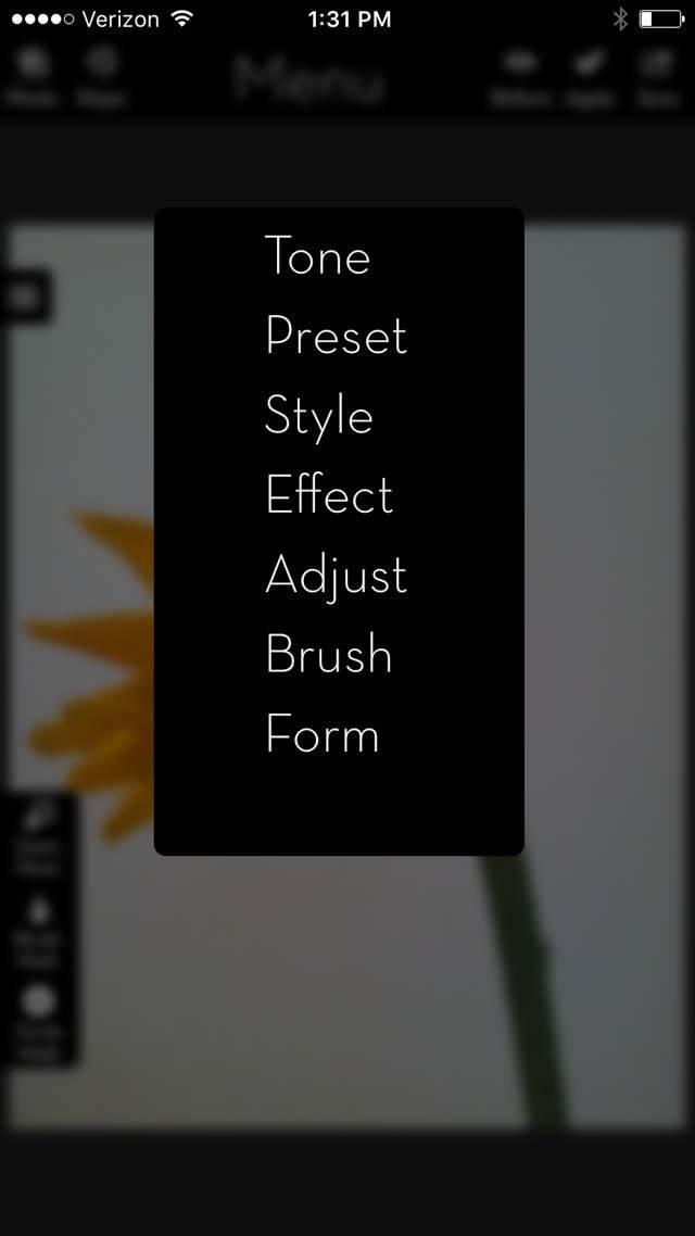 Floral Blur iPhone Photos 14 no script