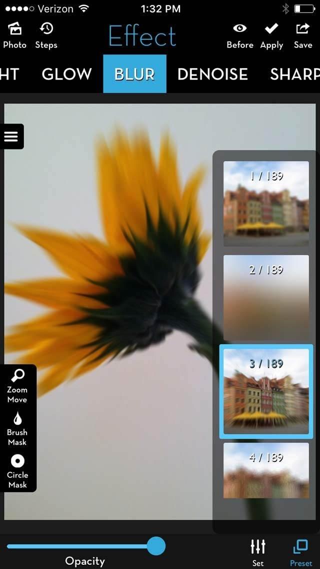 Floral Blur iPhone Photos 16 no script