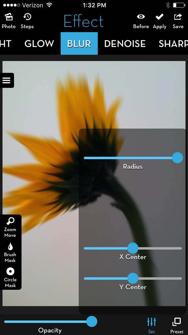Floral Blur iPhone Photos 17 no script