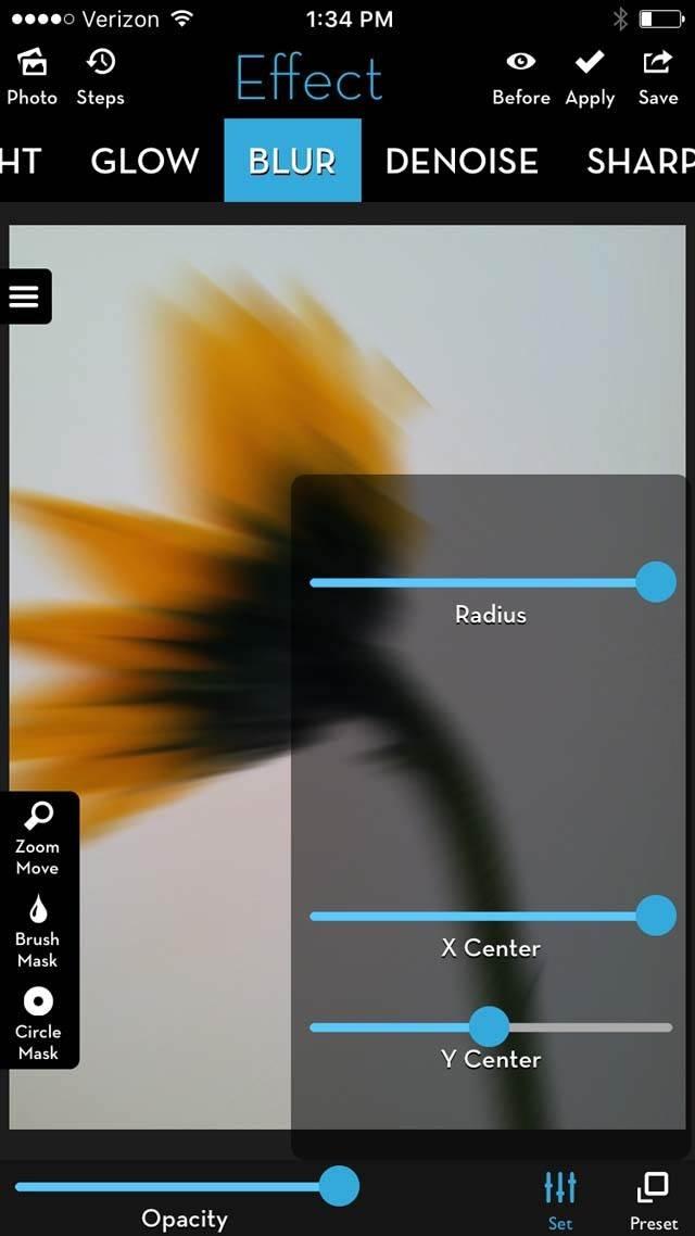 Floral Blur iPhone Photos 18 no script