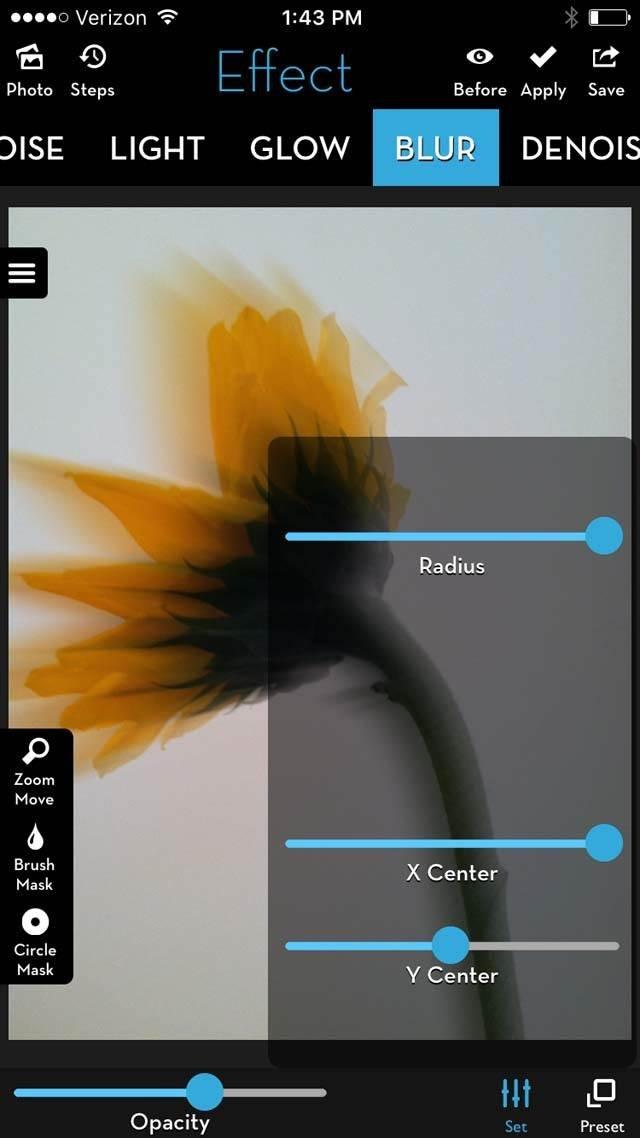 Floral Blur iPhone Photos 20 no script