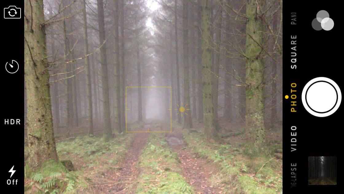 Fog & Mist iPhone Photos 17 no script