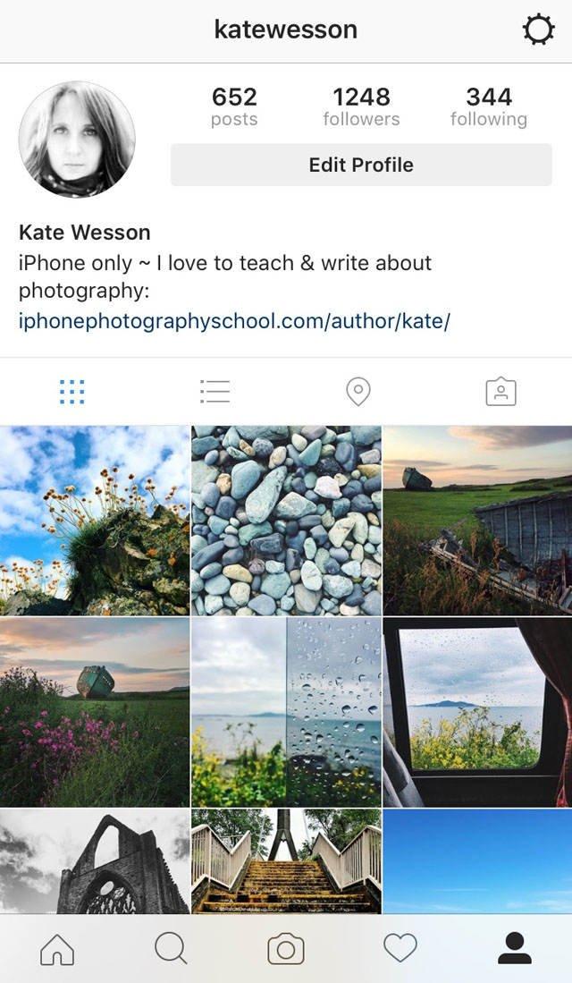 Instagram iPhone Photo Editing 3 no script