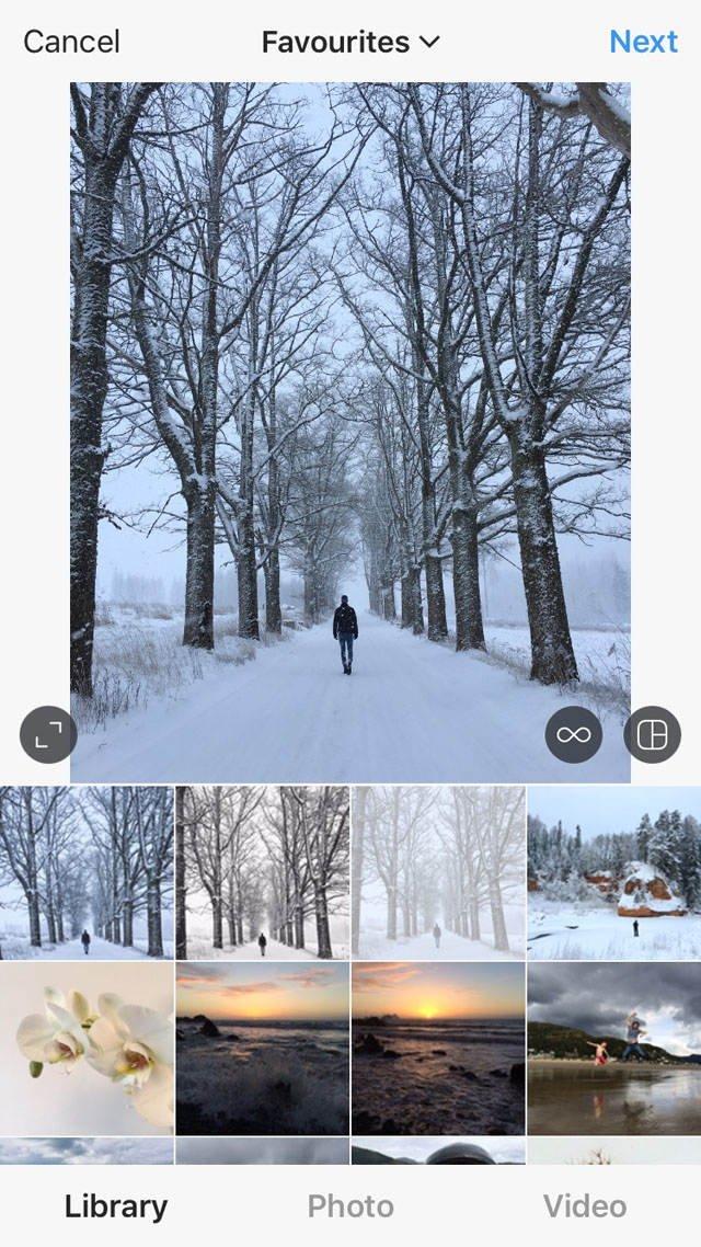 Instagram iPhone Photo Editing 7 no script
