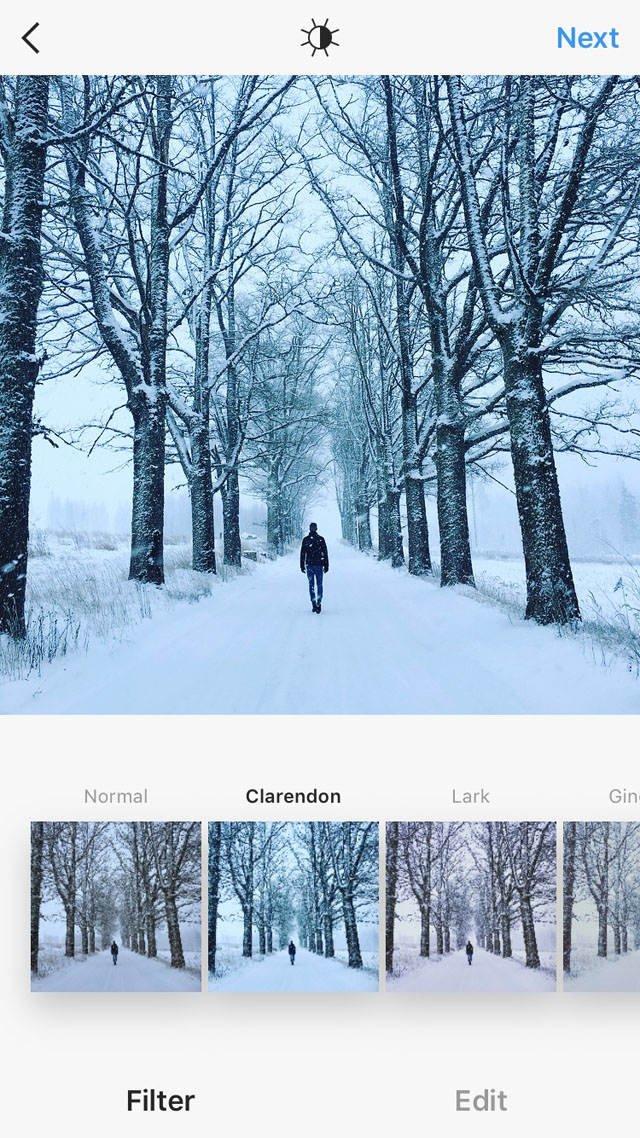 Instagram iPhone Photo Editing 11 no script