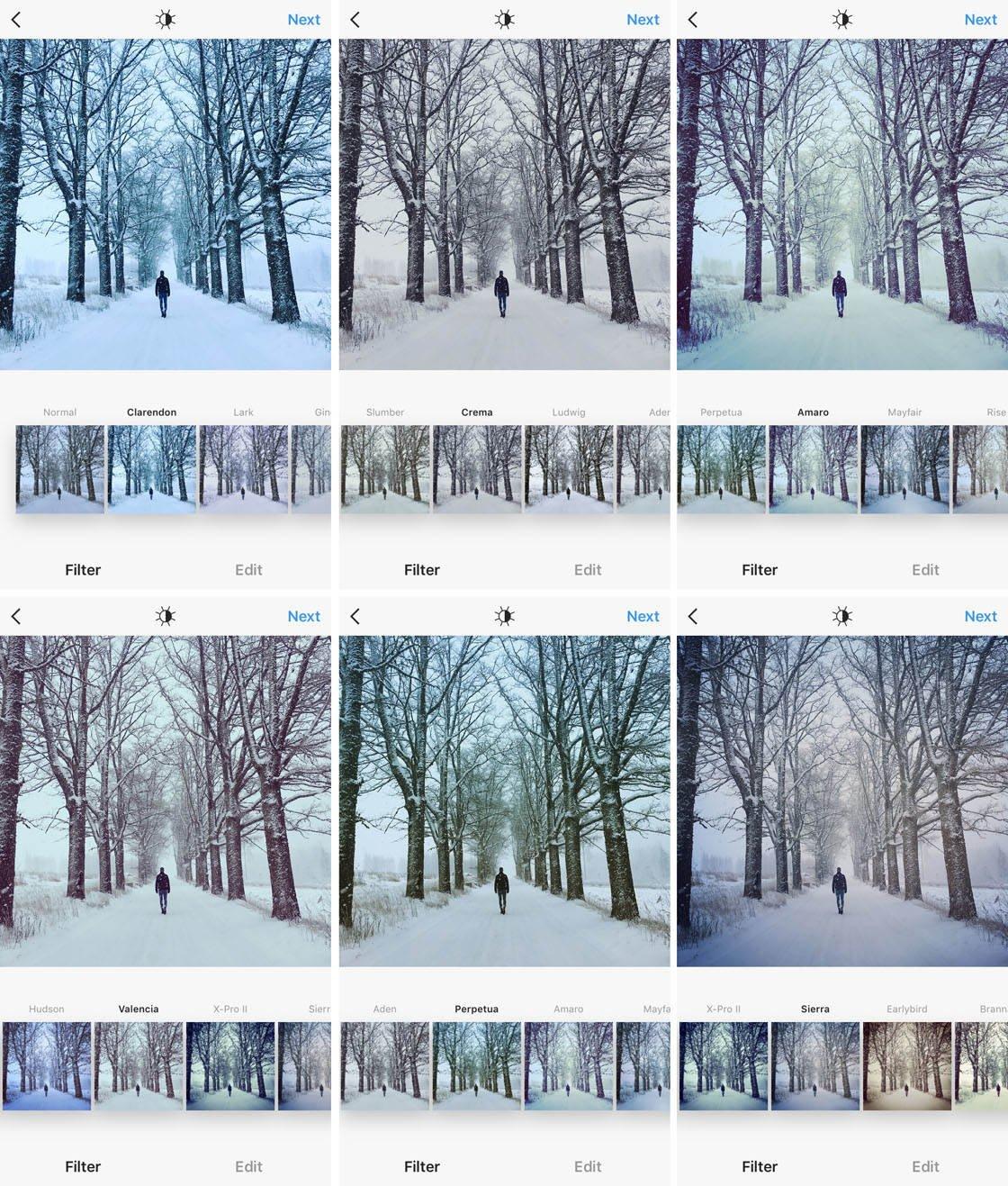 Instagram iPhone Photo Editing 10 no script