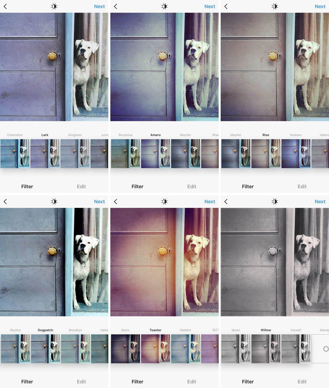 Instagram iPhone Photo Editing 18 no script
