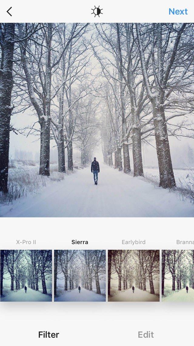 Instagram iPhone Photo Editing 27 no script