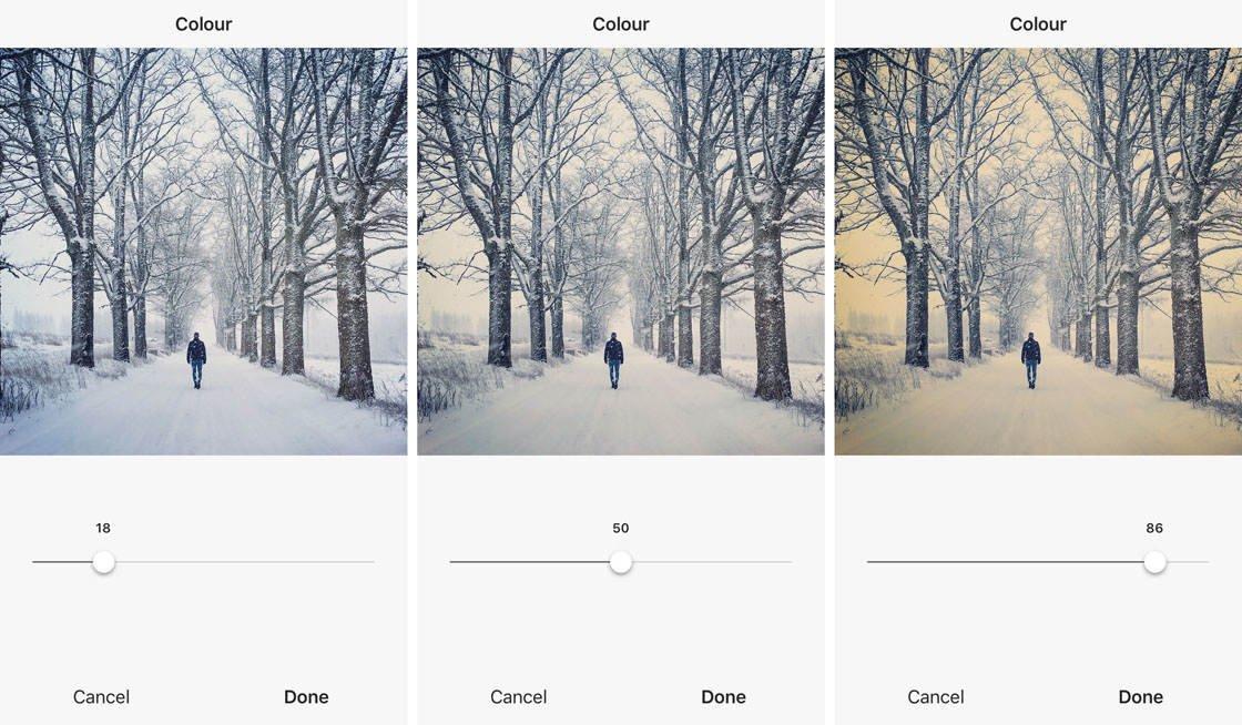 Instagram iPhone Photo Editing 37 no script