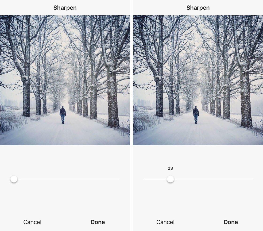 Instagram iPhone Photo Editing 46 no script