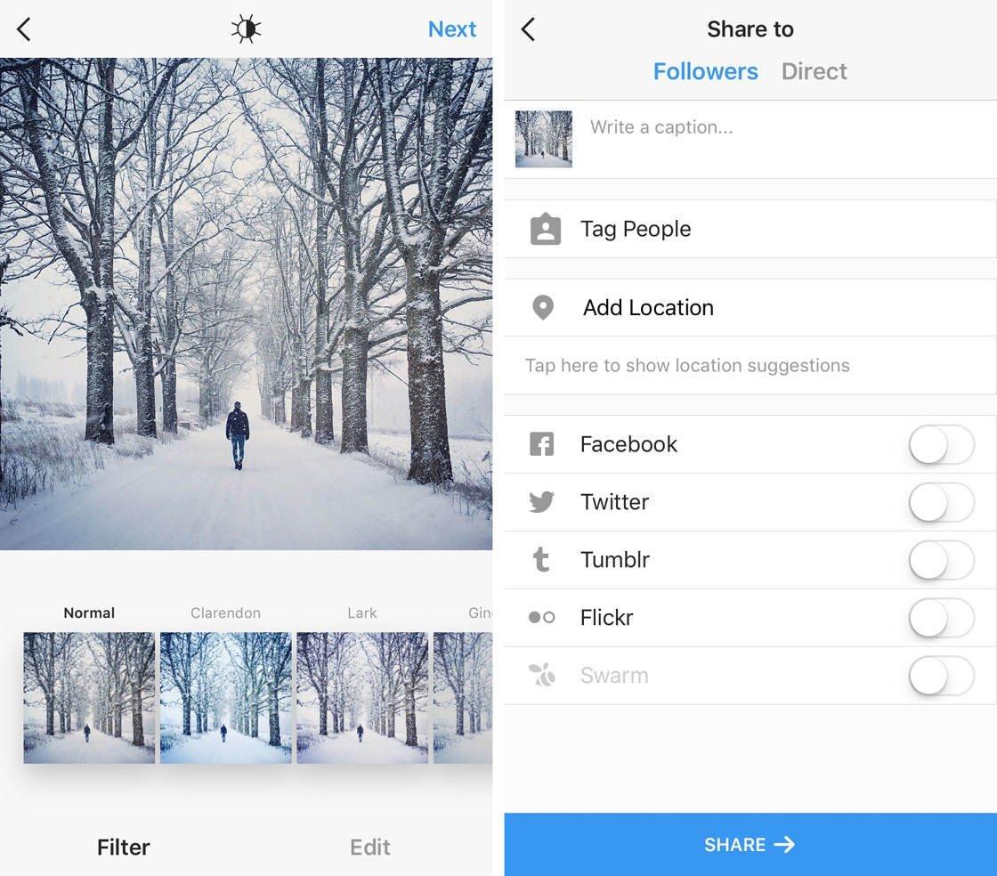 Instagram iPhone Photo Editing 56 no script