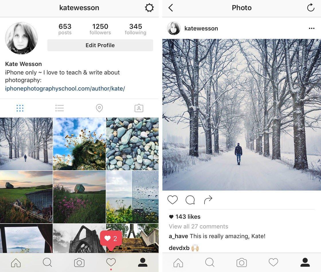 Instagram iPhone Photo Editing 57 no script