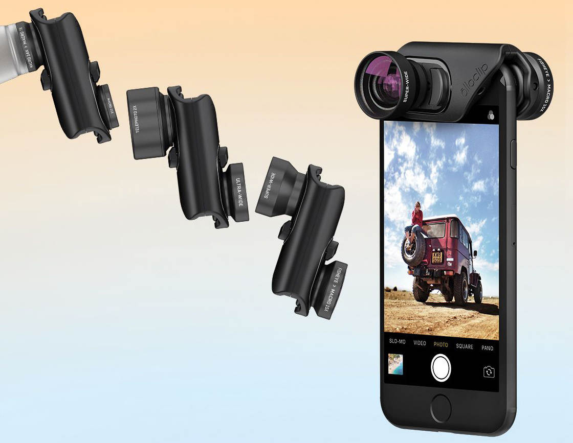 on sale fb378 7e0c3 Olloclip iPhone 7 & 7 Plus Lens Kits Offer New Improved Design