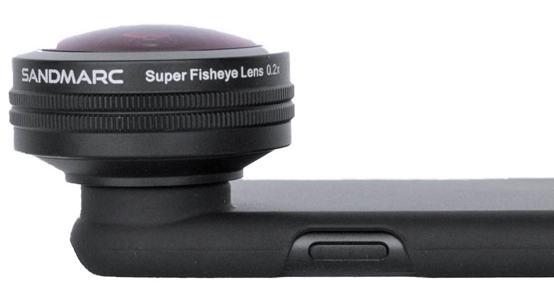 Sandmarc lenses for iphone x 1 fisheye no script