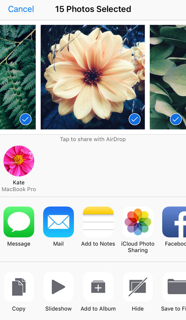 How To Transfer Photos From iPhone To Mac AirDrop no script