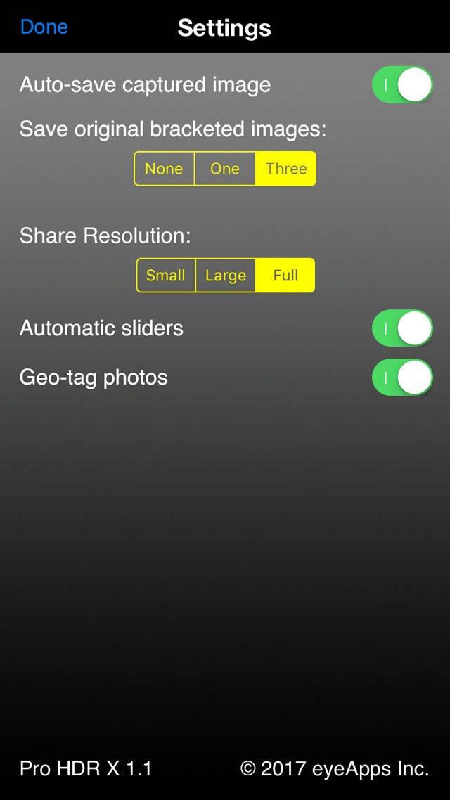 HDR iPhone Pro HDR X App no script