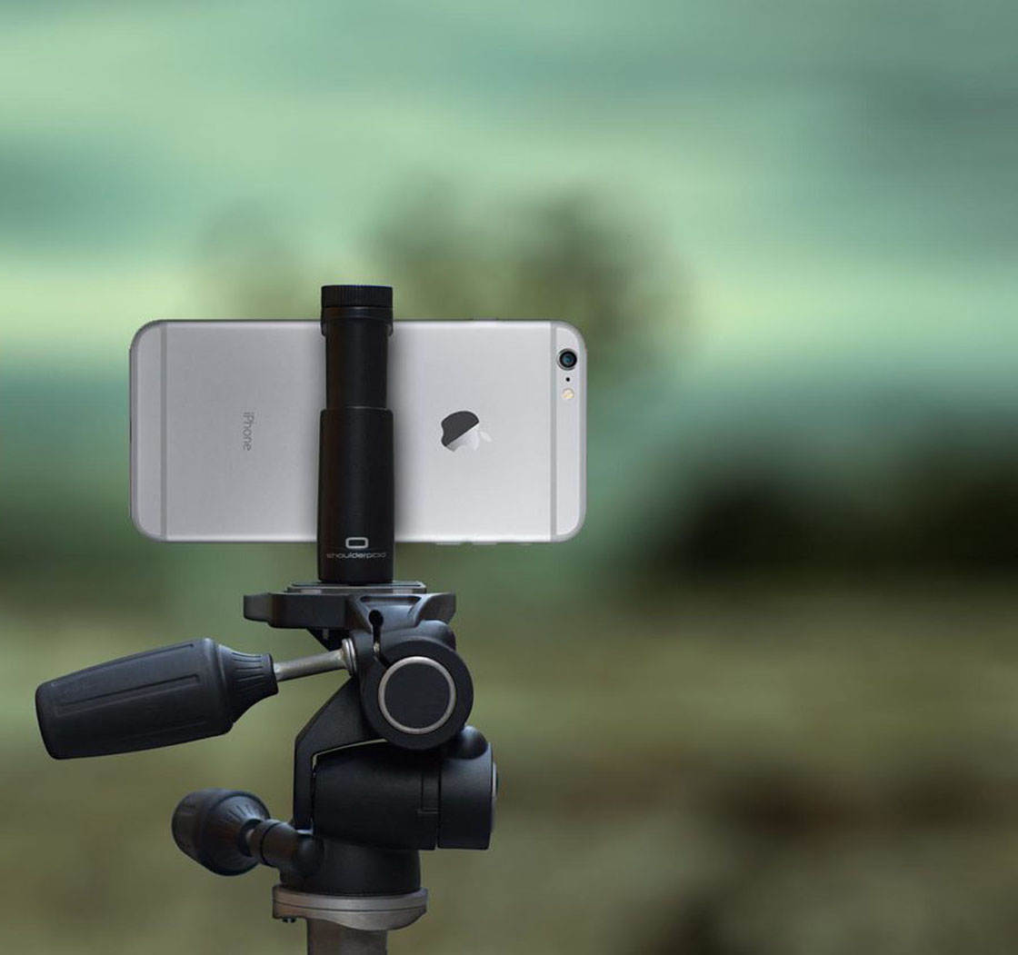 Best iphone tripod mount shoulderpod 3 no script
