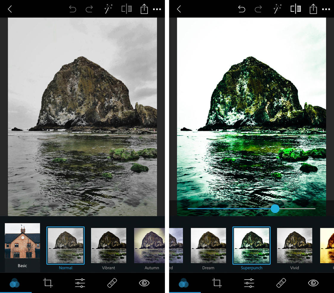 Photoshop express app for iphone 5 no script