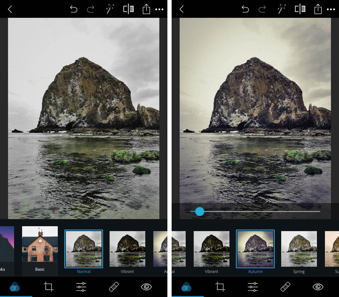 Photoshop express app for iphone 4 no script